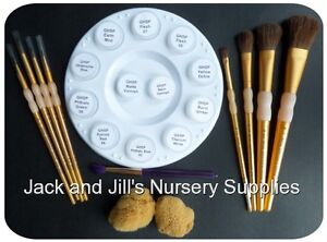 GENESIS SUPERSIZE KIT No.2~paints x 10,palette,mediums x 2,sponges,brush sets.