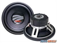 """Rainbow Hammer 12"""" 400 RMS dual voice coil subwoofer in sealed box"""
