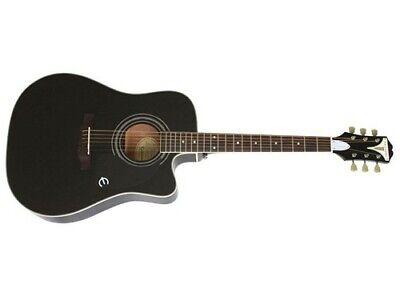 Epiphone PRO-1 Ultra Acoustic Electric Guitar (Ebony)