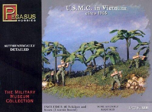 PEGASUS 7401: USMC VIETNAM 1965. 1/72 SCALE US MARINES.