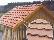 Kunststoff Dachziegel