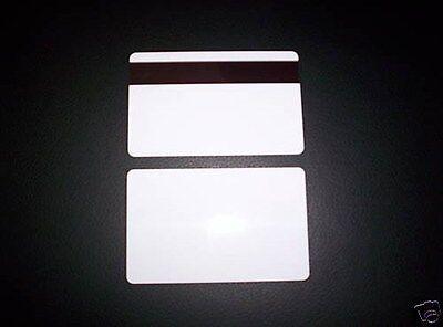 50 Pvc Plastic Id Cards 30mil Hi Co Magnetic Mag Stripe