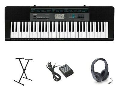 Casio CTK2550 Package with Keyboard, Stand, Sustain Pedal, and Headphones