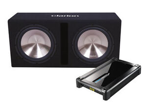 Clarion AMP + Subwoofer Package DEAL - BRAND NEW!!!!