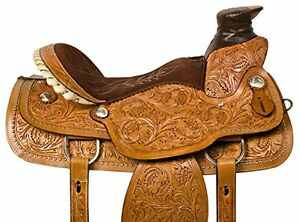 """15"""" 16"""" 17""""  Western Saddles Wade Cowboy Ranch All Leather $697 London Ontario image 1"""