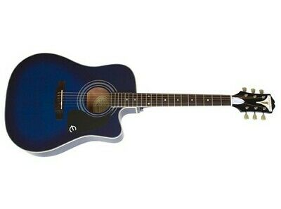 Epiphone PRO-1 Ultra Acoustic Electric Guitar (Trans Blue)