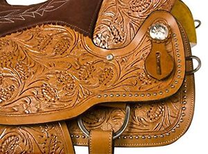 """15"""" 16"""" 17""""  Western Saddles Wade Cowboy Ranch All Leather $697 London Ontario image 6"""
