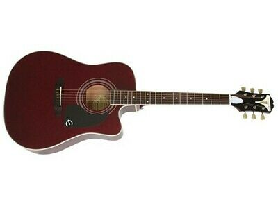 Epiphone PRO-1 Ultra Acoustic Electric Guitar (Wine Red)