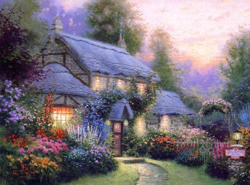 Thomas Kinkade Prints Ebay