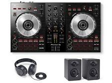 Pioneer DDJ-SB3 DJ Controller with Monitors and Headphones
