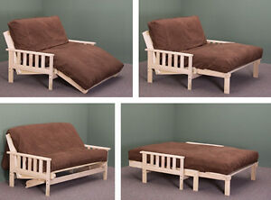 Solid wood futon lounger for sale - $50 OBO