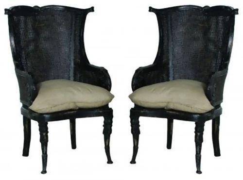 Pair Wingback Chairs Ebay
