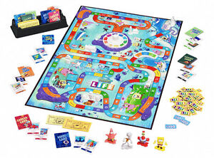 Spongebob Square Pants Game of Life, everything included