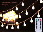 BALL Warm White LED String & Fairy Lights