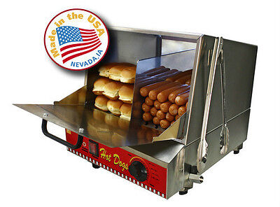 Commercial Hot Dog Steamer By Paragon 8080 Classic
