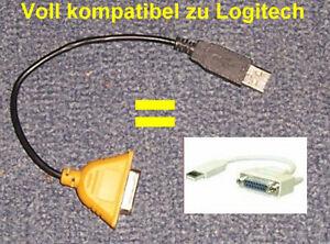 USB zu Gameport Adapter für Logitech Wingman u.a. NEU