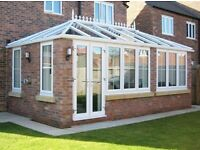 Plastic PVC Windows. Glass, Conservatories, Roofs. Warmcore Bi Folds, Patio, French, Composite Doors