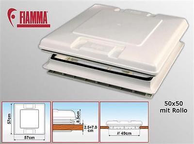 FIAMMA Dachfenster Dachluke VENT 50 x 50 weiß Wohnwage… |