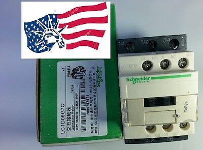 Lc1d09g7c Schneider Contactor  With Coil 120vac 5060hz