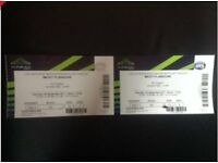 2 mickey flanagan tickets at wembley-30th sept