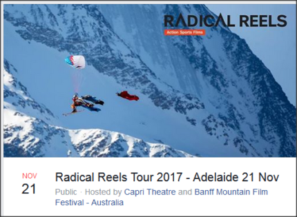 Double pass to the Radical Reels event at the Capri Theatre