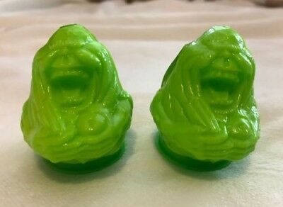 Topps Ghostbusters Slimer Candy 1989 Containers with - Ghostbusters Candy