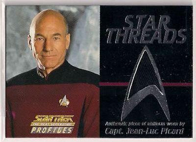 Star Trek Tng The Next Generation Profile Star Threads Kostüm Karte Picard ()