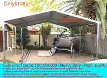 New gable  roof carport sale 6 x 6  $ 1480 or 6 x 9  $2300 Prestons Liverpool Area Preview