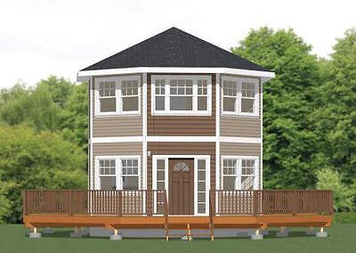 20X20 Tiny House   601 Sq Ft    Pdf Floor Plan    Model 4