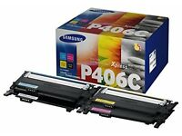 Samsung CLT-P406C Toner Cartridge - Rainbow Colours