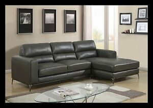 Brand New - Genuine Leather Chaise Sofa - Limited stock! Bayswater Bayswater Area Preview