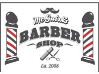 Experienced Barber required - Part Time