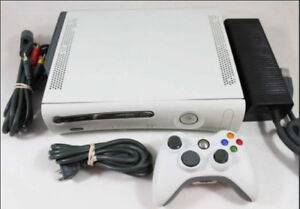 *Modded* XBOX 360 Pro 20GB Modifié - to play any burned games!