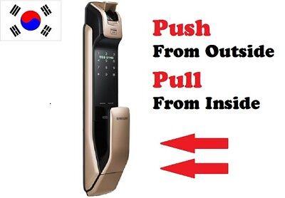 SAMSUNG [SHP-DP930] Fingerprint Push Pull Digital Security Door Lock Keyless