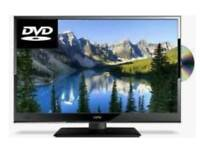 "Techwood 24""hd LED TV dvd combo (free delivery)"