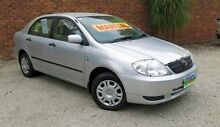 2003 Toyota Corolla ZZE122R Ascent Silver 5 Speed Manual Hatchback Upper Ferntree Gully Knox Area Preview