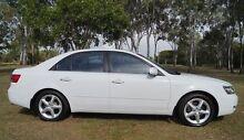 2005 Hyundai Sonata NF Elite White 5 Speed Automatic Sedan Bundaberg West Bundaberg City Preview