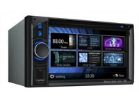 """Brand New Clarion VX404E 6.2"""" Inch Double Din DVD Car Stereo HDMI Parrot BT USB & Aux in"""