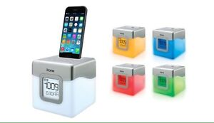 ihome colour changing dock/ alarm clock