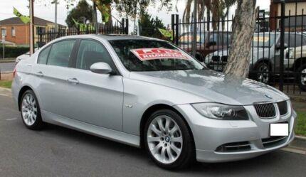 2007 BMW 335i E90 07 Upgrade Silver 6 Speed Auto Steptronic Sedan Hillcrest Port Adelaide Area Preview