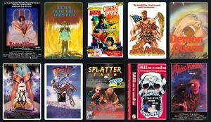 Wanted: Looking for Horror/Thriller/Scifi/Exploitation VHS Tapes