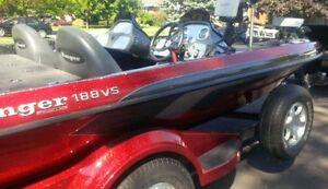 Ranger Bass Boat with 175HP Yamaha HPDI