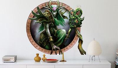 3D Monster Witch 97 Wall Paper Murals Wall Print Wall Wallpaper Mural AU Summer
