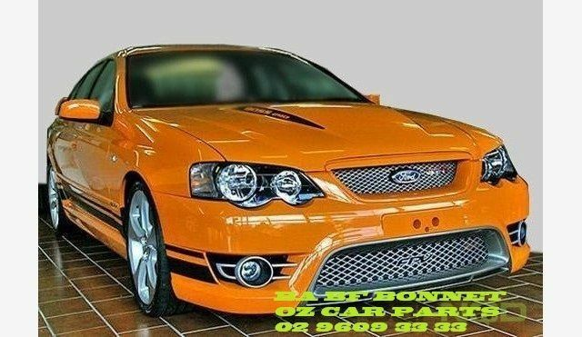 Ford Falcon Ba Bf Xr8 Xr6 Fpv Gt Gtp Boss Bonnet Steel