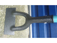 Metal handled Dutch Hoe (new) .. free local delivery