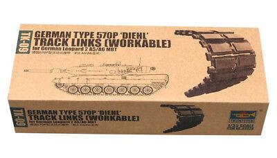 Trumpeter 9362039 Panzerketten 570P f. Leopard 2 A5/A6 Panzer 1:35 Modellbausatz