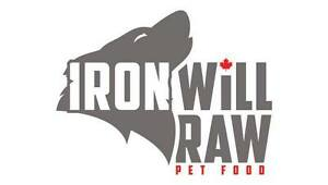 IRON WILL RAW PET FOOD