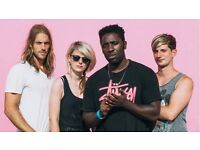 BLOC PARTY @ROUNDHOUSE SATURDAY FEB 11TH FLOOR STANDING TICKETS X 4