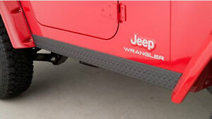 1998-2006 Wrangler TJ Side Rocker Panels (14002)