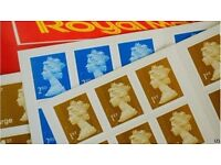 Royal Mail Small Parcel Stamps - Normally £2.85 - 15p saving!